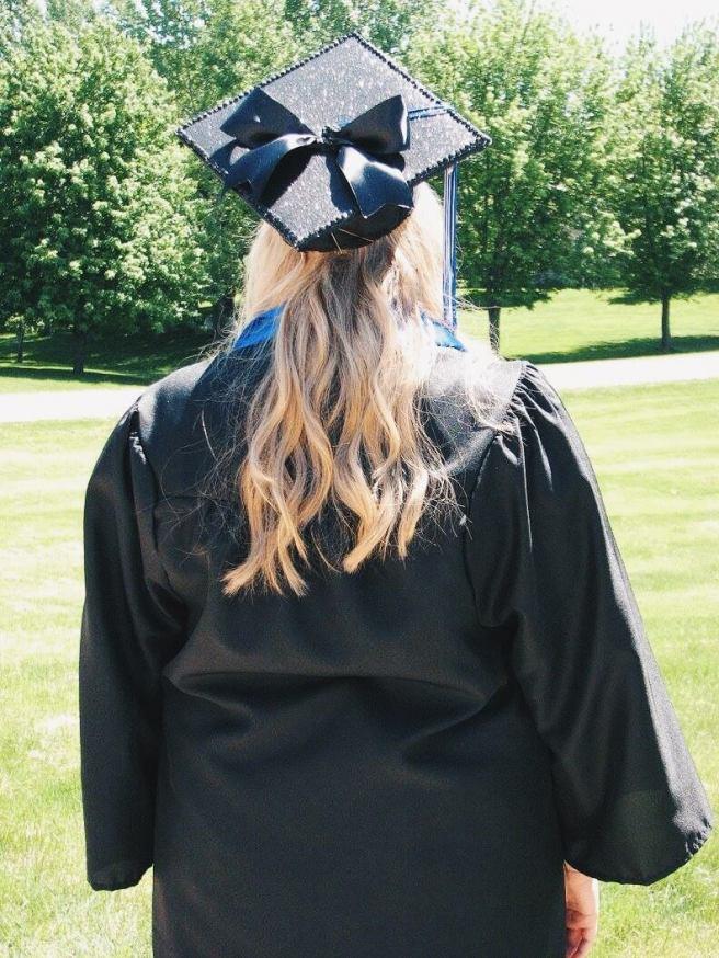 High School Graduation Cap Decoration