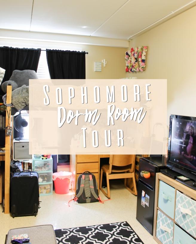 Sophomore Dorm Room Tour
