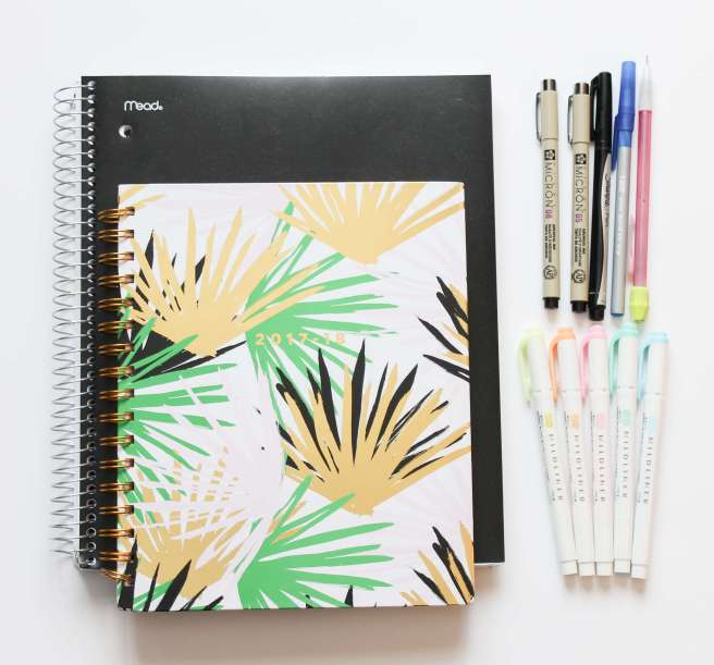 Note Taking and Planner Supplies
