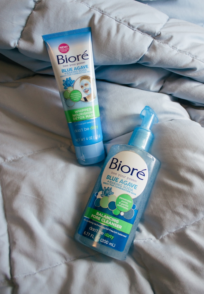Taking Care of My Combination Skin | Bioré Blue Agave + Baking Soda