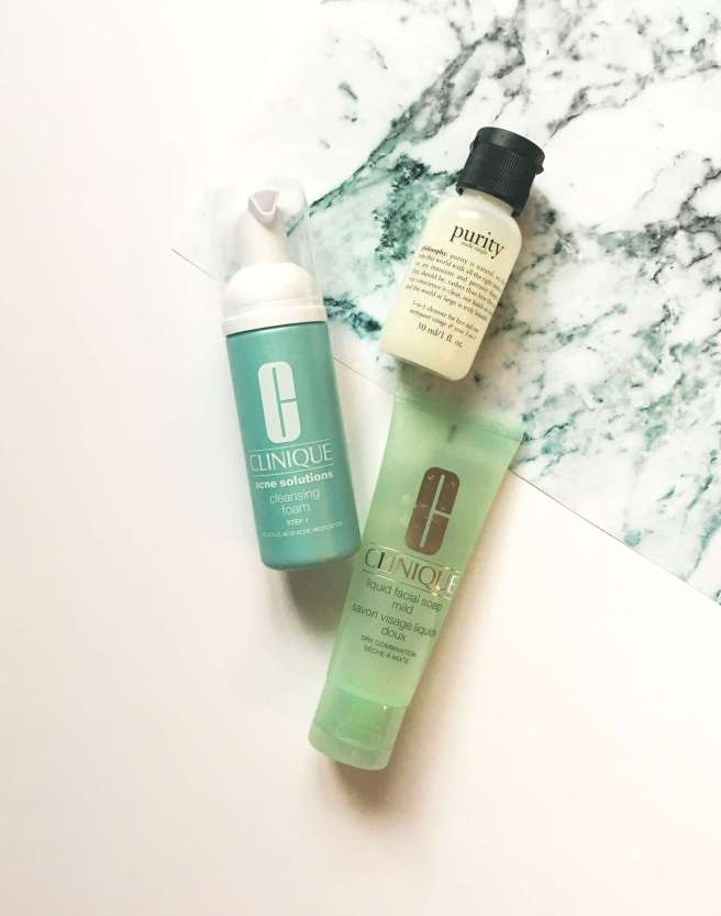 Three Face Washes on Trial