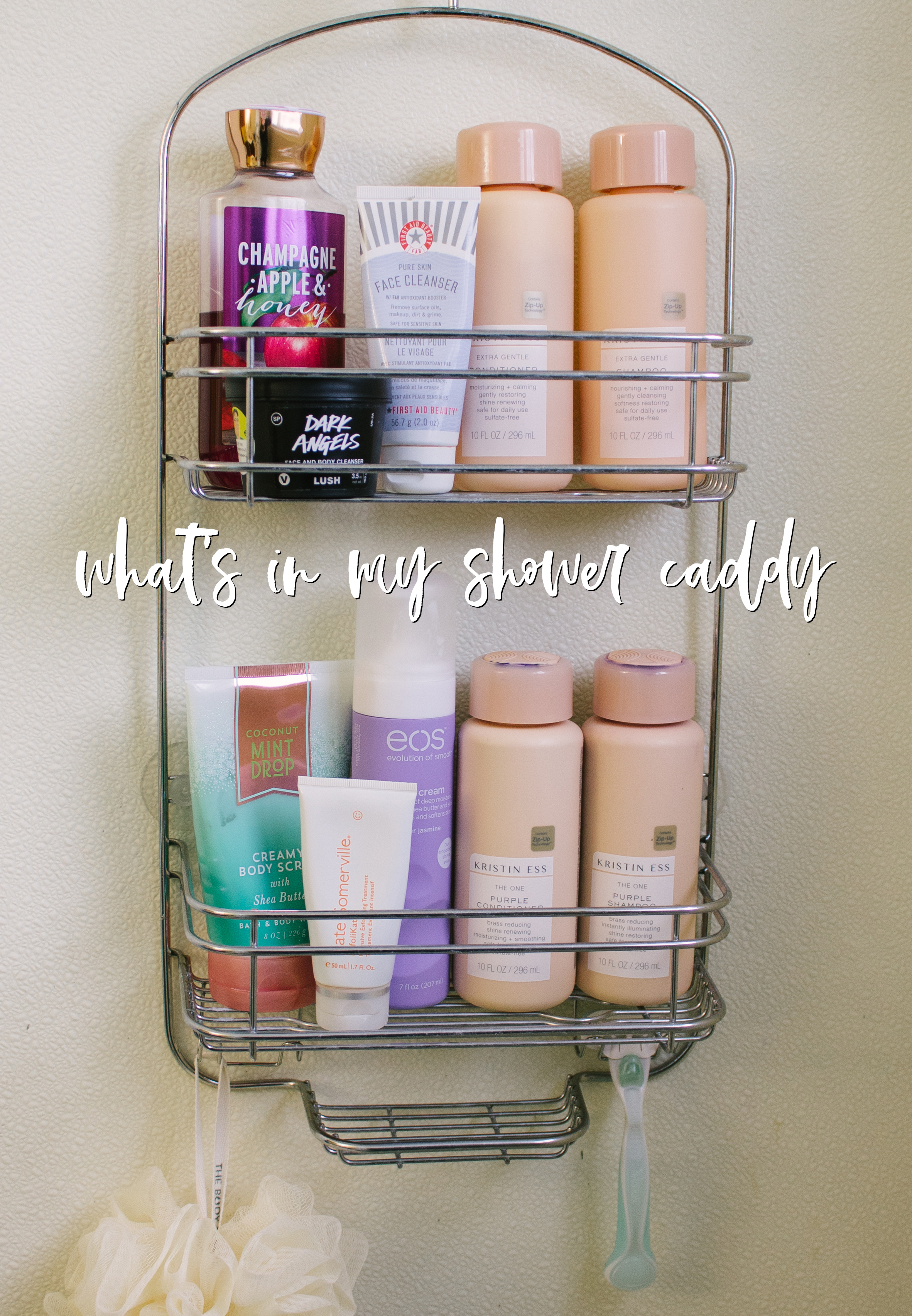 What's In My Shower Caddy? | Junior Year Apartment