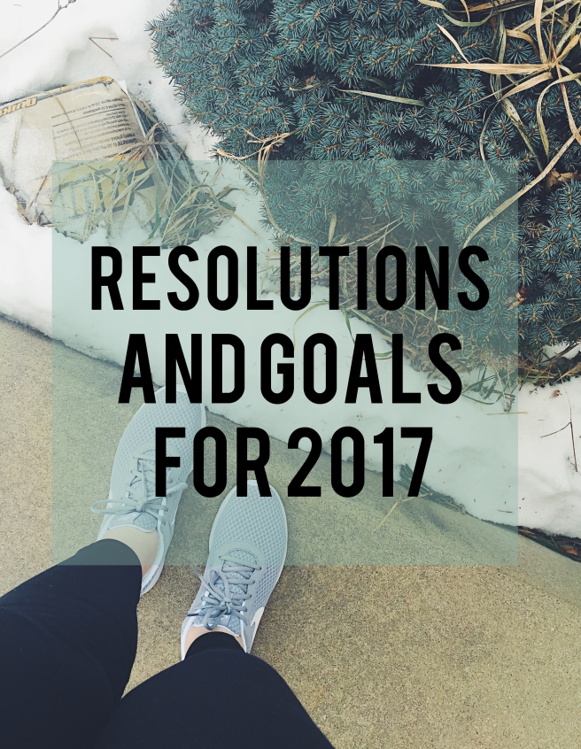 New Year's Resoultions 2017